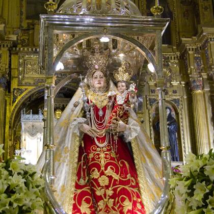 María Stma. de Araceli (traslado parroquia San Mateo-convento de la Madre de Dios RRPP franciscanos) 2008