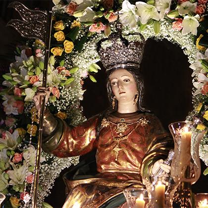 María Stma. de la Aurora (traslado desde la capilla de la Aurora hasta la parroquia de Sto. Domingo) 2008