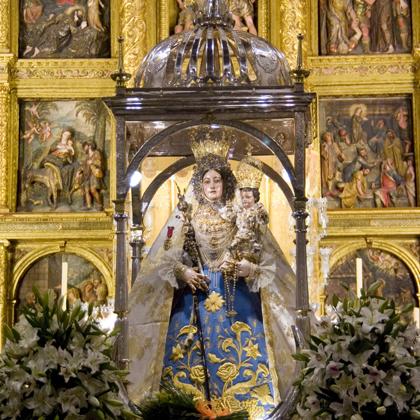 María Stma. de Araceli (traslado convento de la Madre de Dios RRPP Franciscanos-parroquia San Mateo) 2008