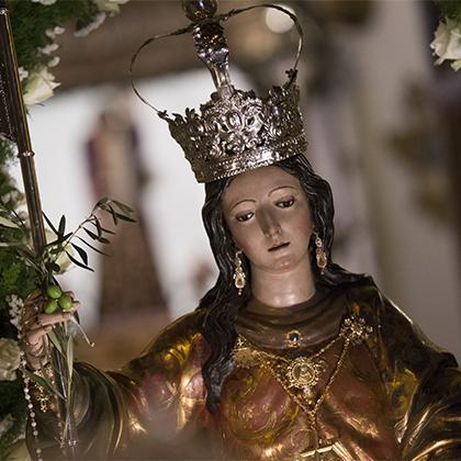 María Stma. de la Aurora (Traslado desde la capilla de la Aurora a Santo Domingo de Guzmán) 2017