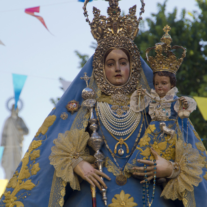María Stma. de Araceli (traslado desde la parroquia Sagrada  Familia hasta la parroquia de S. Mateo) 2012