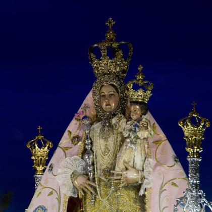 María Stma. de Araceli (traslado desde el convento de las Carmelitas hasta la parroquia de S. Mateo) 2012