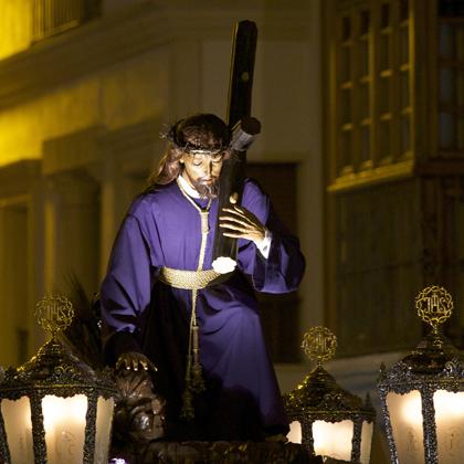 Ntro. Padre Jesús Caído  (traslado a la parroquia de Santiago) 2014
