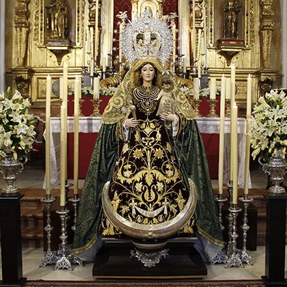 Ntra. Sra. del Valle (traslado desde parroquia Santo Domingo  a la parroquia de la Sagrada Familia) 2010