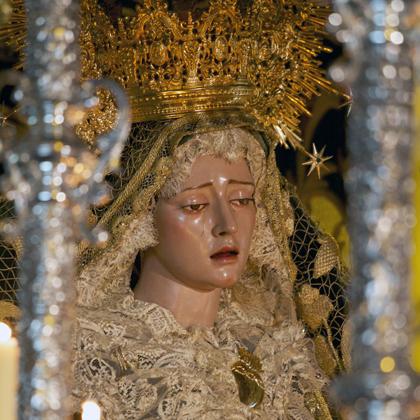 María Stma. de la Paz y Esperanza (traslado a la parroquia de Santiago) 2014