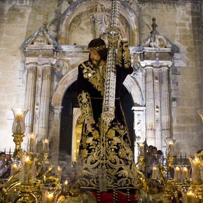 Ntro. Padre Jesús Nazareno (traslado desde la parroquia de S. Mateo hasta su capilla) 2012