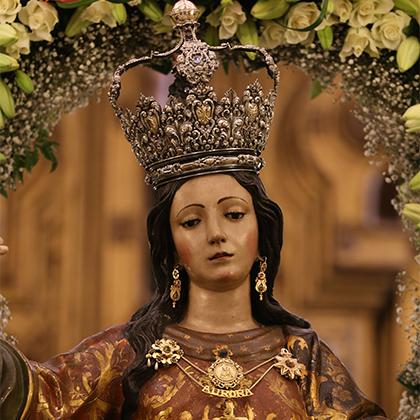 María Stma. de la Aurora (traslado desde la parroquia de Sto. Domingo hasta la capilla de la Aurora) 2009