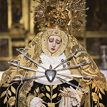 """Ntra. Sra. de los Dolores """"Servitas"""" (Procesión Extraordinaria 250 Aniversario refundación Servitas)"""