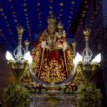 María Stma. de Araceli (traslado desde la parroquia de S. Mateo hasta la parroquia Sagrada  Familia)