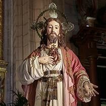 Sagrado Corazón de Jesús (Procesión Extraordinaria por el Año Jubilar del Sagrado Corazón de Jesús)